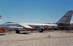 Pueblo Weisbrod Aircraft Museum - Boeing B-47 Stratojet at the Pueblo Museum