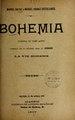 Bohemia - comedia en tres actos - arreglo de la célèbre obra de Mürger La vie bohème (IA bohemiacomediaen507salv).pdf