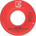Bohemian Rhapsody by Queen US vinyl red label.png