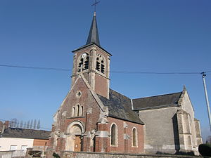 Boisemont, Eure - Image: Boisemont église 2