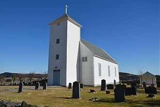Bokn - View of Bokn Church