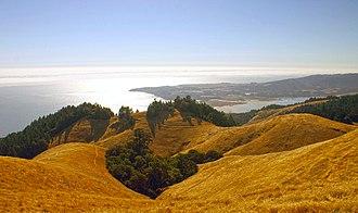 Bolinas, California - Bolinas Peninsula from Panoramic Highway