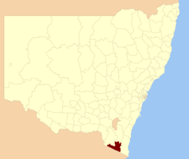 Bombala LGA NSW
