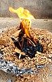 Bonfire in Janakpurdham, Nepal 231738.jpg