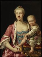 Bonito, attributed to - So-called portrait of Maria Carolina of Austria.jpg