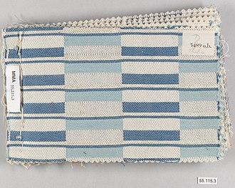 Otti Berger - Sample textile designed by Otti Berger