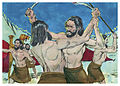 Book of Judges Chapter 7-7 (Bible Illustrations by Sweet Media).jpg