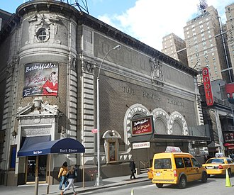 Booth Theatre - Image: Booth Teatre 222 W45 St B Midler morning sun jeh