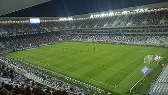 2018 Coupe de la Ligue Final - The Nouveau Stade de Bordeaux in Bordeaux hosted the final