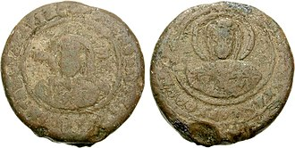 Boris I of Bulgaria - Coin of Boris-Mihail. Knyaz, struck in 852-889.
