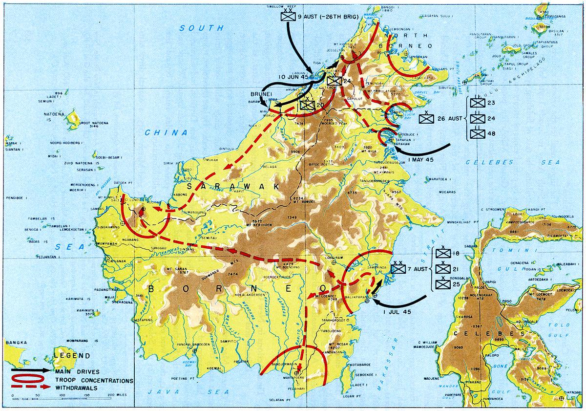 Малайя и британское борнео википедия 25 лет победы