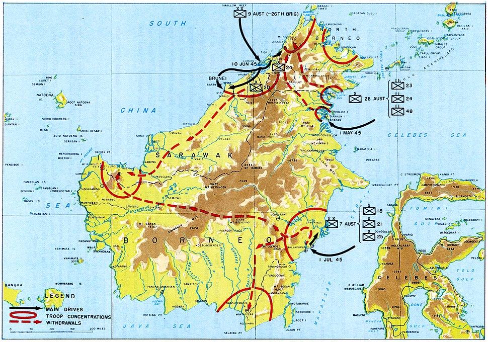 Borneo Campaign CMH