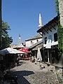 Bosnie-Herzegovine Mostar Stari Most Vieille Rue Rive Droite 21082008 - panoramio.jpg