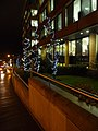 Bournemouth, Christmas lights outside Portman House - geograph.org.uk - 1611526.jpg