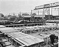 Bouw IJtunnel Het booreiland in het IJ Interieur van de verkeerskokers, Bestanddeelnr 915-6059.jpg