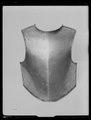 Bröstharnesk, karolinsk typ 1600-talets senare del - Livrustkammaren - 62202.tif