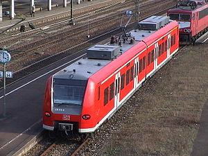 DBAG Class 425 - Class 426 is shorter than class 425