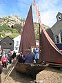Brass band in a boat - geograph.org.uk - 1773160.jpg