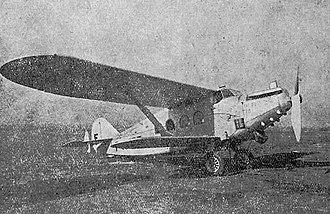Breguet 280T - Image: Breguet 280T Annuaire de L'Aéronautique 1931