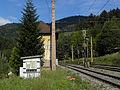Breitenstein - Semmeringbahn - Streckenhäuschen beim Weinzettelfeldtunnel.jpg
