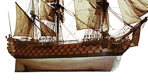 French ship Bretagne (1766) - Image: Bretagne mg 8087