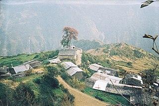 Briddhim Village development committee in Bagmati Zone, Nepal