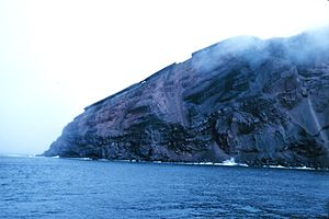 Bridgeman Island (South Shetland Islands) - A promontory on Bridgeman Island