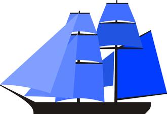 Brigantine - A brigantine sail plan