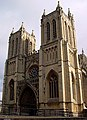 Bristol Cathedral - The West Towers - geograph.org.uk - 134836.jpg