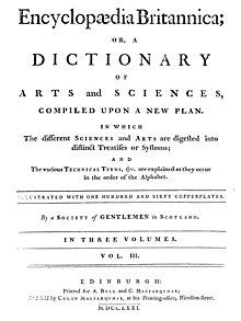History of the Encyclopædia Britannica - Wikipedia