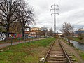 Brno, Svitavská pobřežní dráha, u Křenové (05).jpg