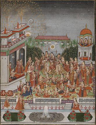 Dara Shukoh - Brooklyn Museum – The Nuptials of Dara Shukoh and Nadira Begum