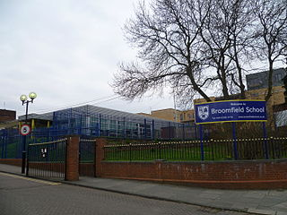 Broomfield School, Arnos Grove Foundation school in Southgate, London