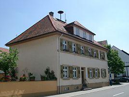 Rathaus von Büchenau