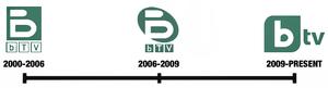 BTV (Bulgaria) - Image: Btv history