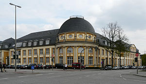 Bucerius Law School - Main rotunda, built in 1906 as the botany department of the University of Hamburg.