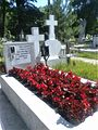 Bucuresti, Romania. Cimitirul Bellu Catolic, Mormantul compozitorului Dan Iagnov (16 Mai 2017).jpg
