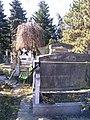 Bucuresti, Romania. Cimitirul Bellu Catolic. O cioara veghind un mormant.jpg