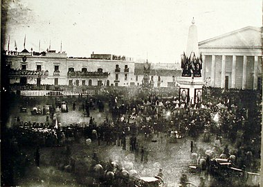 Swearing in of the Buenos Aires Constitution