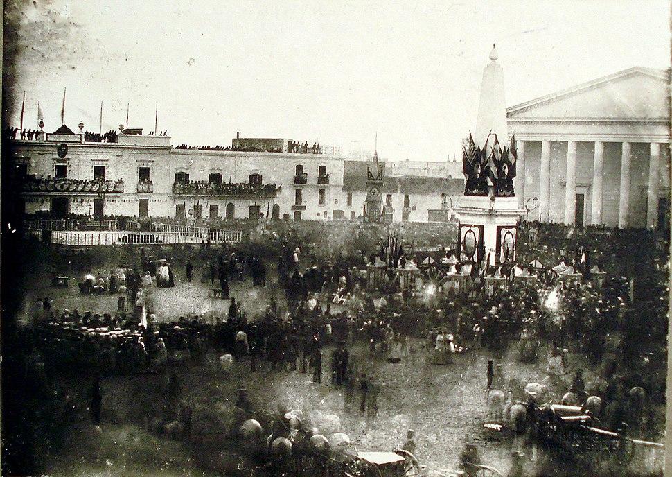 Buenos Aires-Jura de la Constitución (1854)