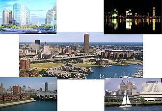 Economy of Buffalo, New York - A set of images of Buffalo's skyline