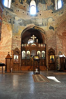 Interior of Church of St. George, Sofia, 4th century