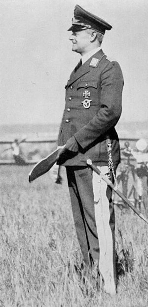 Luftwaffe - Walther Wever, Chief of the Luftwaffe General Staff, 1933–1936.