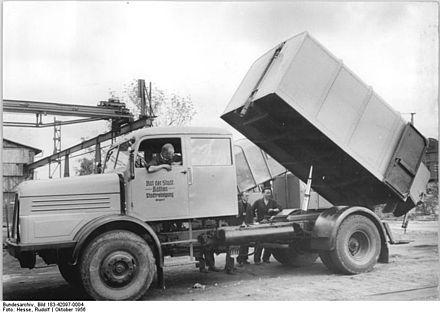 Müllwagen - Wikiwand