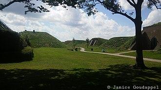 Hellevoetsluis - Image: Bunkers vesting Hellevoetsluis