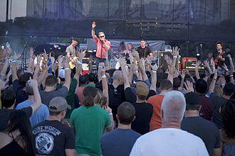 Burden Brothers - Burden Brothers performing at Dia De Los Toadies in September 2015.