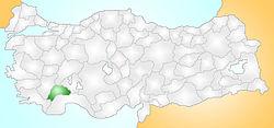 Türkiye'de bulunduğu yer