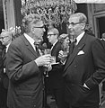 Burgemeester Thomassen bracht bezoek aan collega Burgemeester Van Hall te Amster, Bestanddeelnr 919-2959.jpg