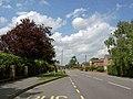 Bus stop on Tiln Lane, East Retford - geograph.org.uk - 1357573.jpg