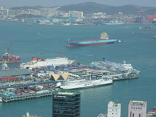 Port of Busan Port in South Korea